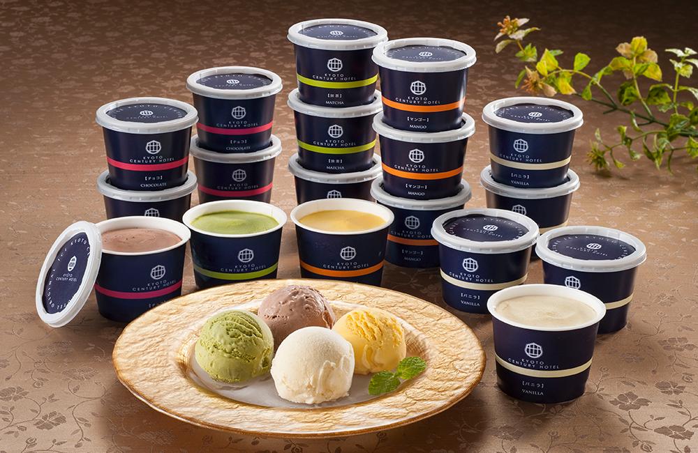 京都センチュリーホテル監修 アイスクリームギフト 18種イメージ