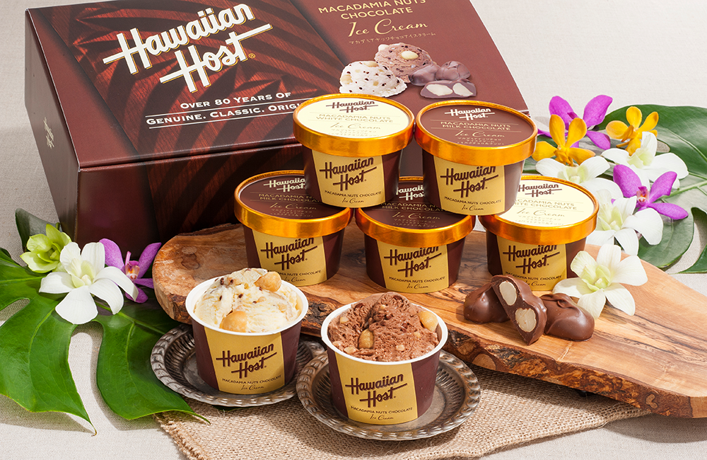 ハワイアンホースト マカデミアナッツチョコアイスイメージ